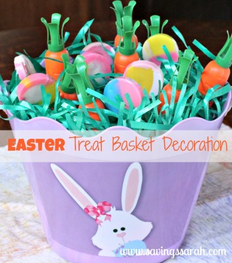 Easter Bunny Treat Basket