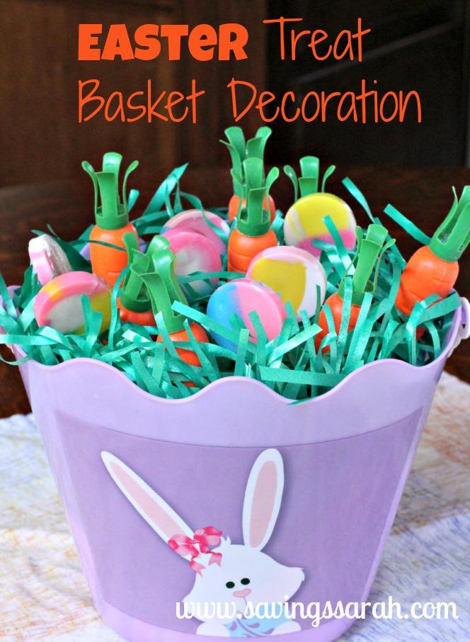 Easter Treat Basket Decoration