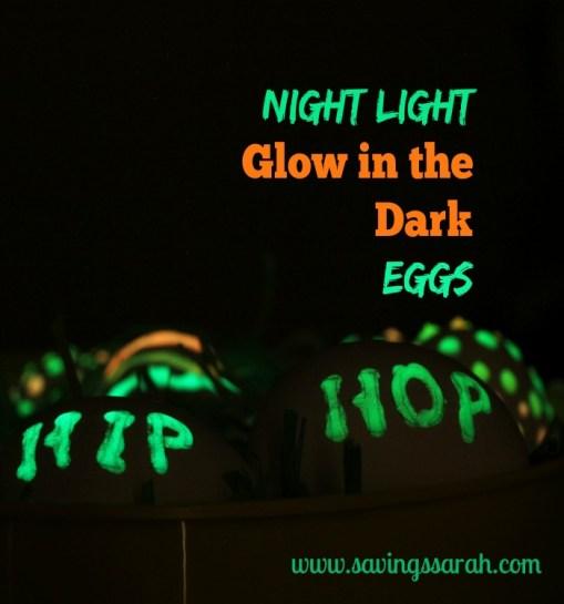 Night Light Glow in the Dark Eggs