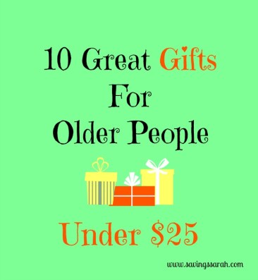 10 Great Gifts for Older People Under $25