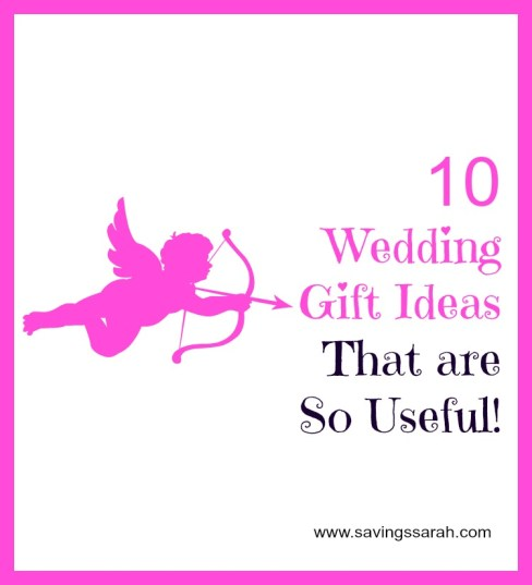 10 Wedding Gift Ideas That are So Useful!