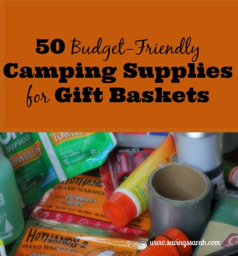 50 Budget-Friendly Camping Supplies for Gift Baskets