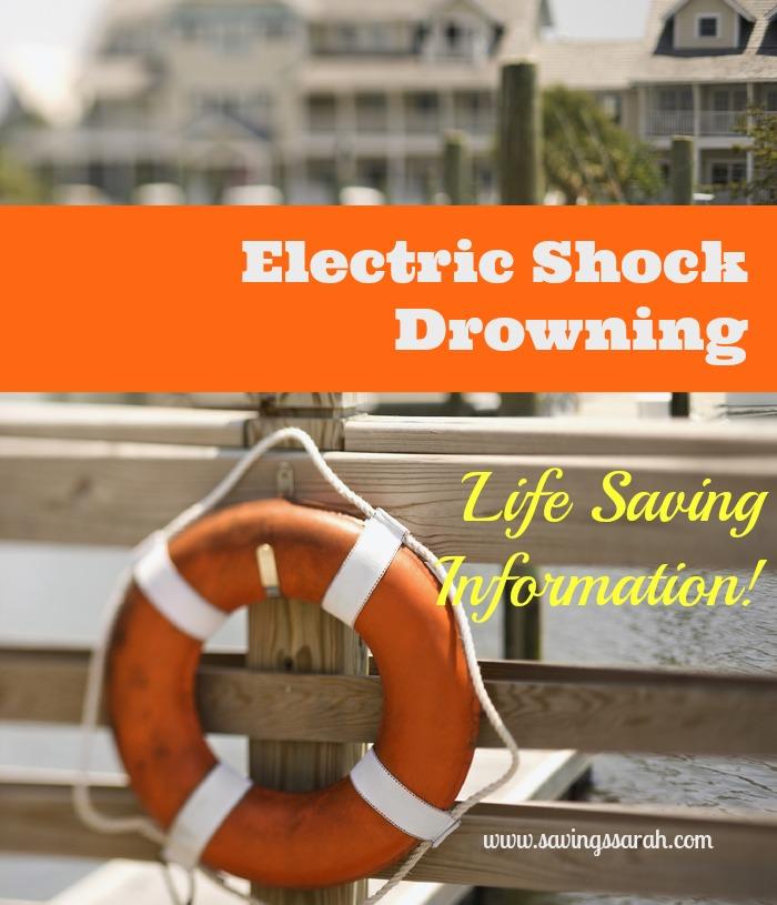 Electric Shock Drowning...Life Saving Information