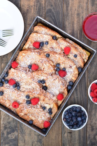 Almond Coconut French Toast