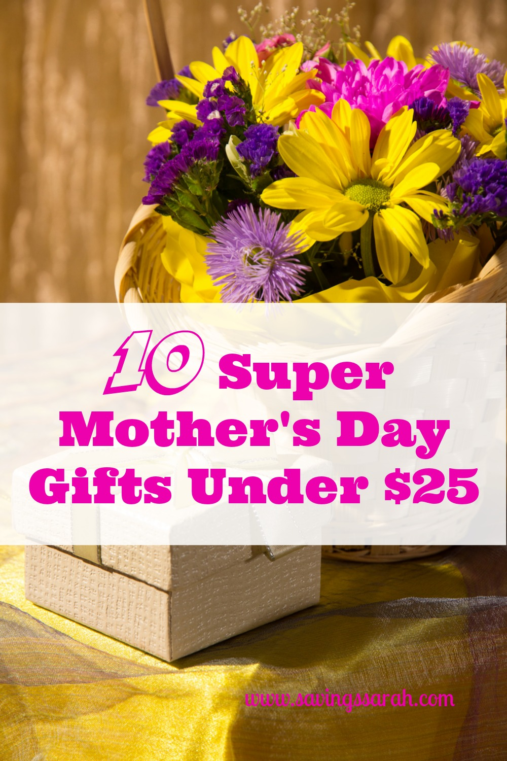 & 10 Motheru0027s Day Gifts Under $25 - Earning and Saving with Sarah