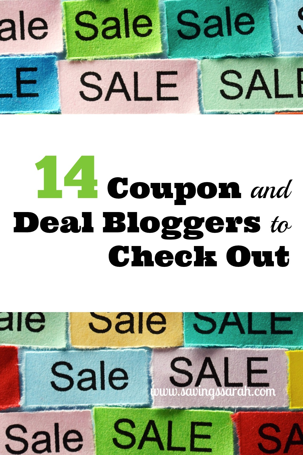 14 Coupon and Deal Bloggers to Check Out