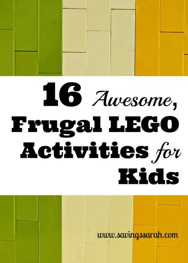 16 Awesome, Frugal LEGO Activities for Kids