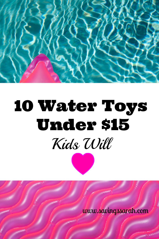 10 Water Toys Under $15 Kids Will Love