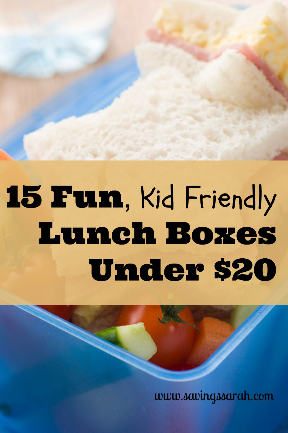 15 Fun, Kid Friendly Lunch Boxes Under $20