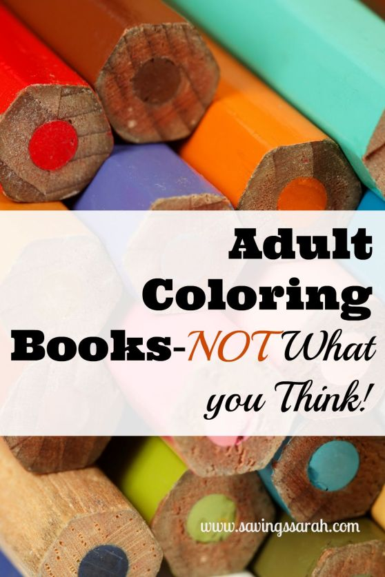 Adult Coloring Books-Not What You Think!