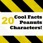20 Cool Facts About The Peanuts Characters