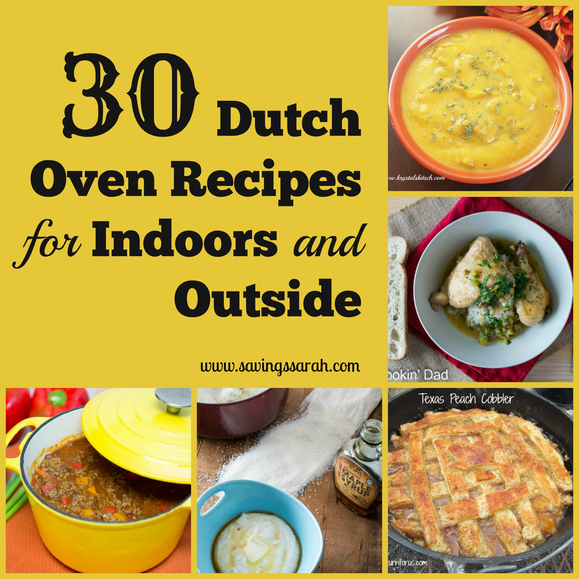 30 Dutch Oven Recipes For Indoors And Out Earning And Saving