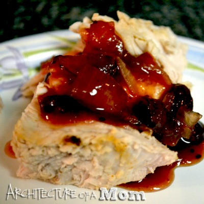 Spicy Turkey Breast and Kickin' Cranberry Sauce
