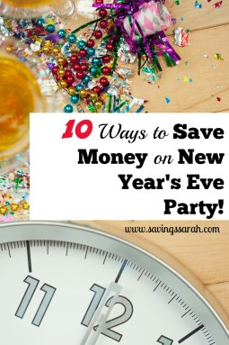 10 Ways to Save Money on New Year's Eve Party
