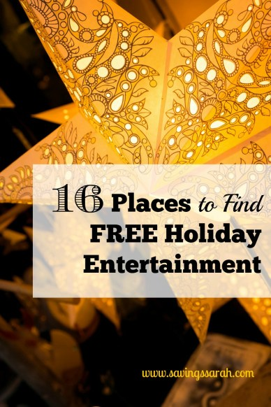 16 Places to Find Free Holiday Entertainment