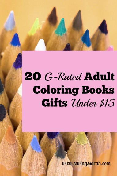 20 G-Rated Adult Coloring Book Gifts Under $15