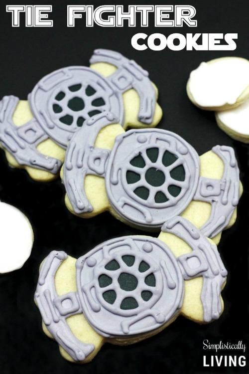 Tie Fighter Cookies Star Wars