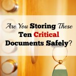Are You Storing These 10 Critical Personal Documents Safely?