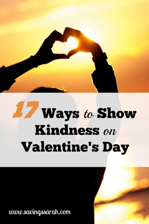 17 Ways to Show Kindness on Valentine's Day