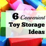 6 Convenient Toy Storage Ideas