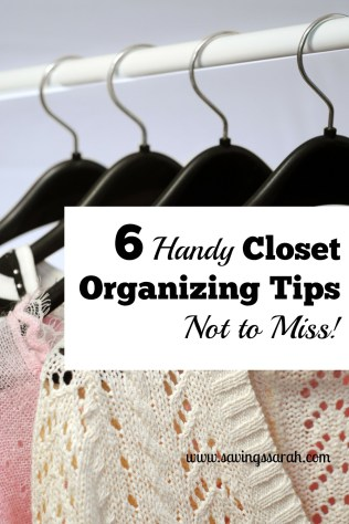 6 Handy Closet Organizing Tips Not to Miss