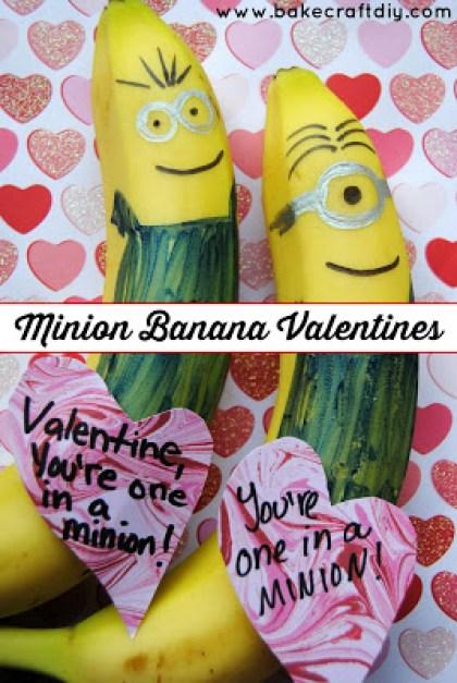 Minion Banana Valentines