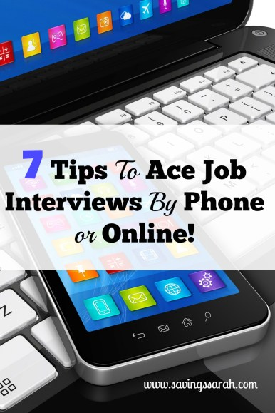 7 Tips to Ace Job Interview By Phone or Online