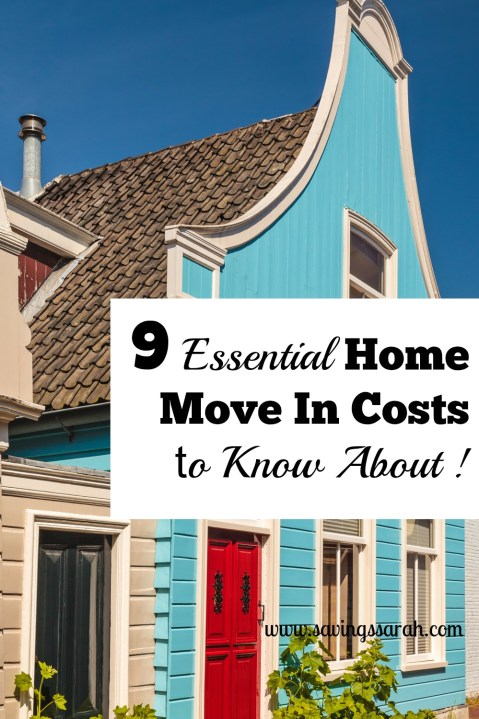 9 Budget Stretching Home Move In Costs