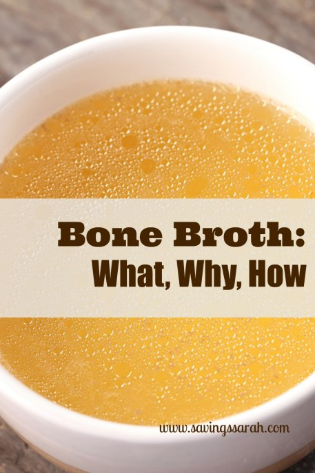 Bone Broth What, Why, How