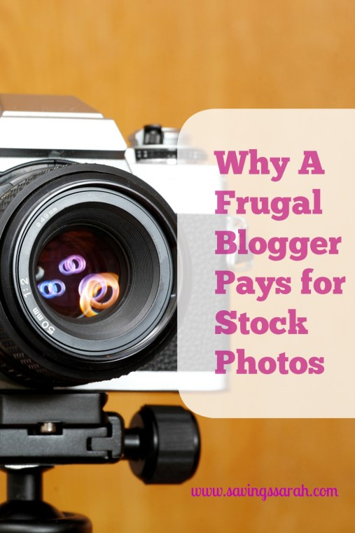 Why A Frugal Blogger Pays for Stock Photos