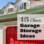 15 Clever Garage Storage Ideas