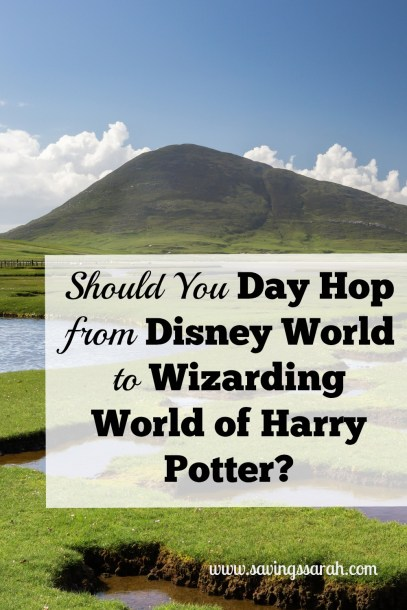 Should You Day Hop from Disney to Wizarding World of Harry Potter?