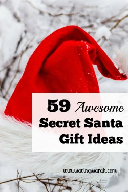 59 Awesome Secret Santa Ideas