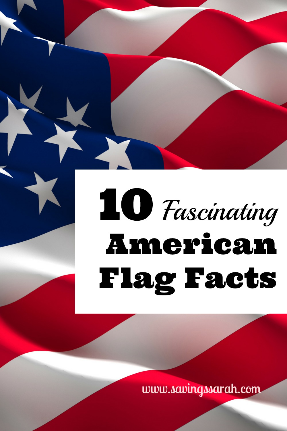 photo regarding Cub Scout Flag Ceremony Printable identified as 10 Appealing American Flag Information and facts - Generating and Preserving with