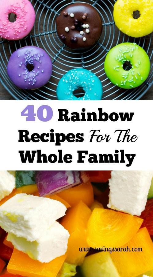 40 Rainbow Recipes For The Whole Family