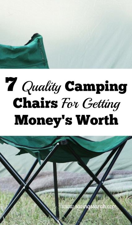 7 Quality Camping Chairs For Getting Money's Worth