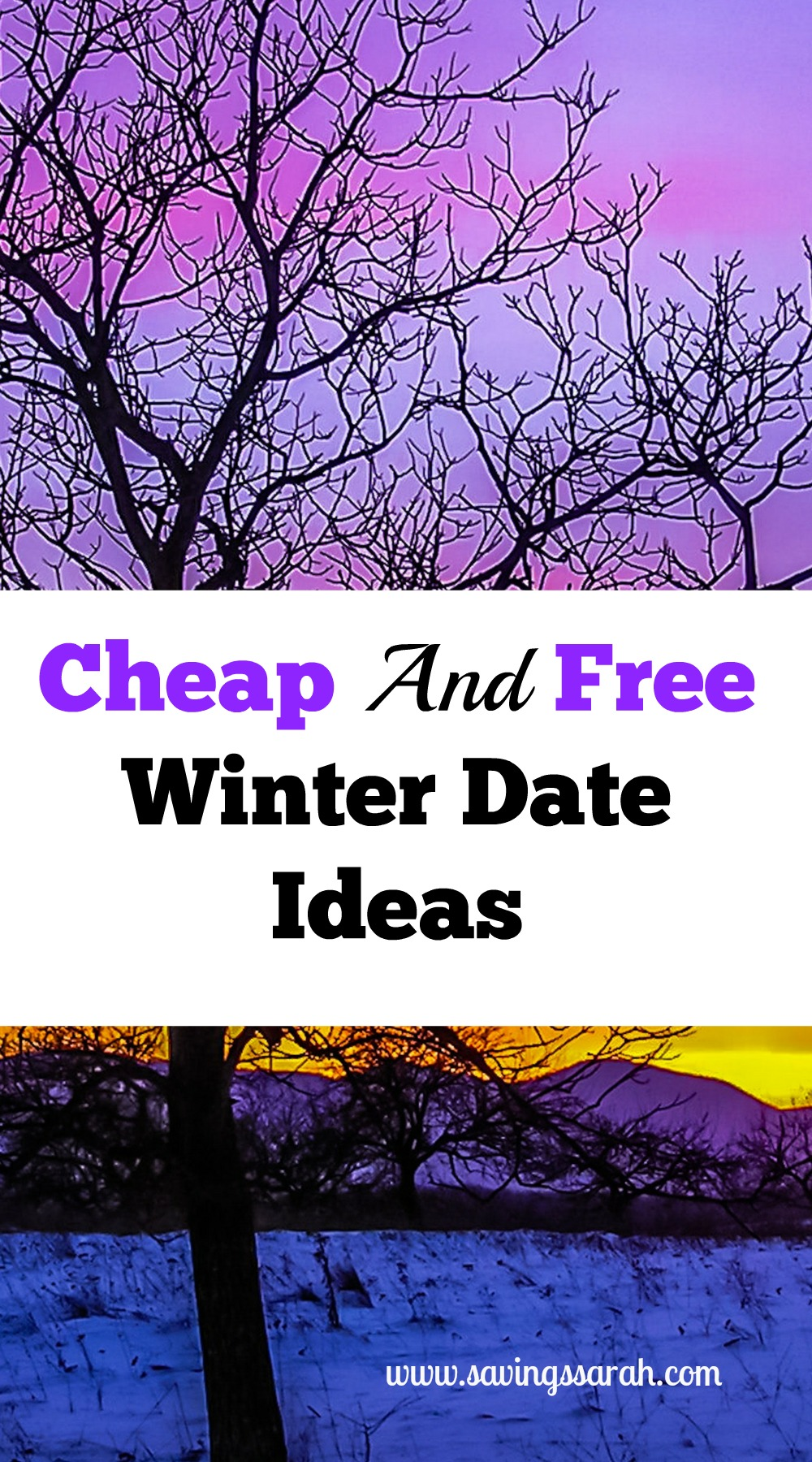 cheap and free winter date ideas - earning and saving with sarah