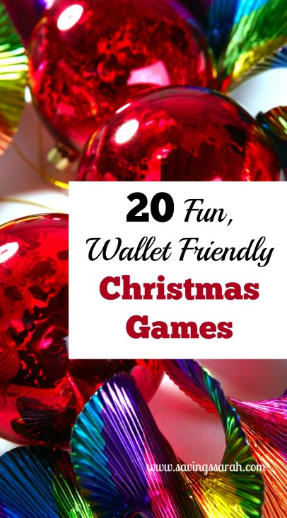 20 Fun Wallet Friendly Christmas Games
