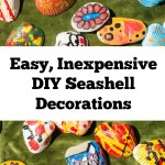 Easy Inexpensive DIY Seashell Decorations
