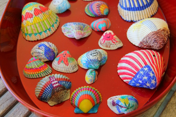 Lots of Decorated Shells