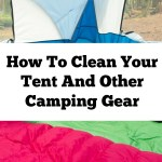 How To Clean Your Tent And Other Camping Gear