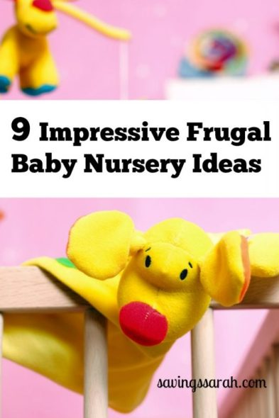 9 Impressive Frugal Baby Nursery Ideas