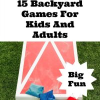 15 Backyard Games for Kids And Adults