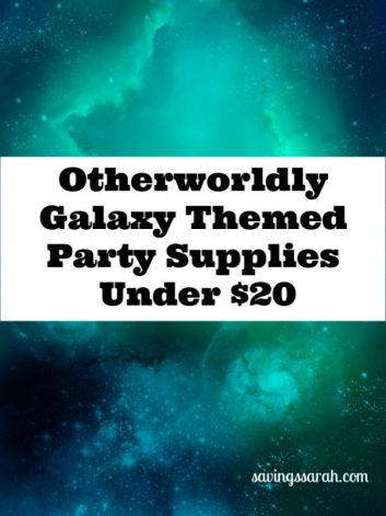 17 Galaxy Themed Party Supplies Under $20