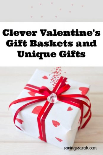 Clever Valentine's Gift Baskets and Gifts
