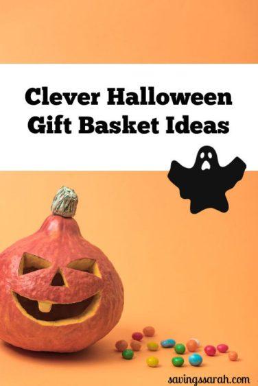 Clever Halloween Gift Basket Ideas