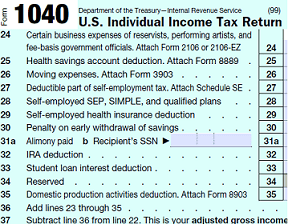 form 1040 Adjusted Gross Income — Saving to Invest