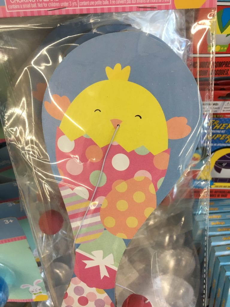 Easter toys from the dollar tree