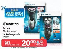 graphic regarding Philips Norelco Printable Coupon known as CVS: *Warm* Philips Norelco 6948XL Razor Simply just $9.99