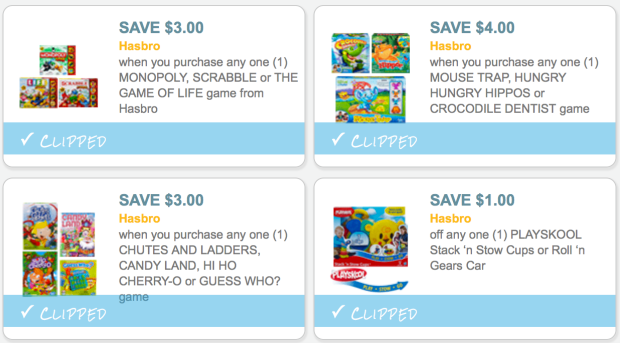 FOUR New Hasbro Game Coupons + Walmart Deals | Saving With Candy